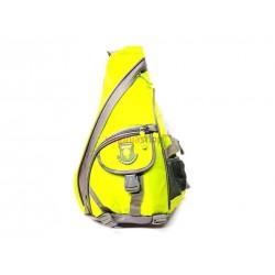 Ruksak jednopopruhový F176 zeleno -žltý
