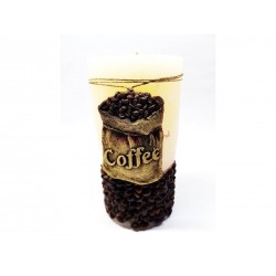 Sviečka coffee ovál 00052