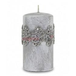 Sviečka kvetinová čipka 00054
