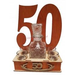 Darčeková fľaša 50-tka