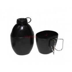Fľaša plastová s pohárom 562