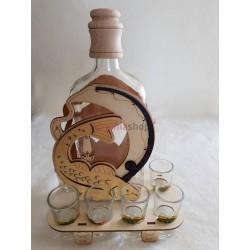 Darčeková fľaša ryba 00009