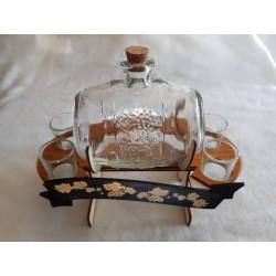 Darčeková fľaša súdok 00006
