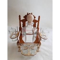 Darčeková fľaša trón 00008