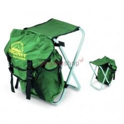 Stolička s ruksakom1626