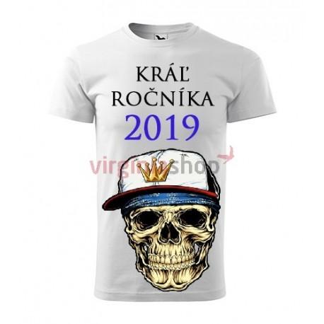 5eebe5f81de4 Absolventské tričko Kráľ ročníka