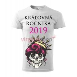 Absolventské tričko Kráľovná ročníka