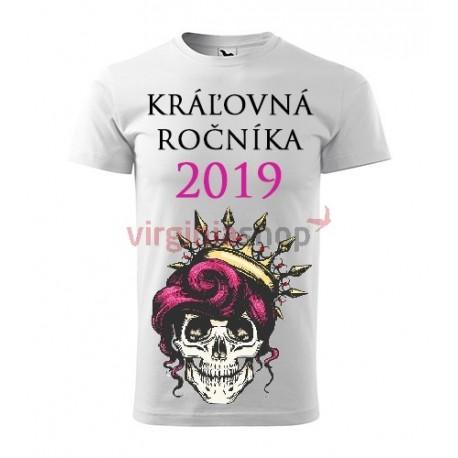 7615c993050c Absolventské tričko Kráľovná ročníka