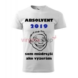 Absolventské tričko Absolvent