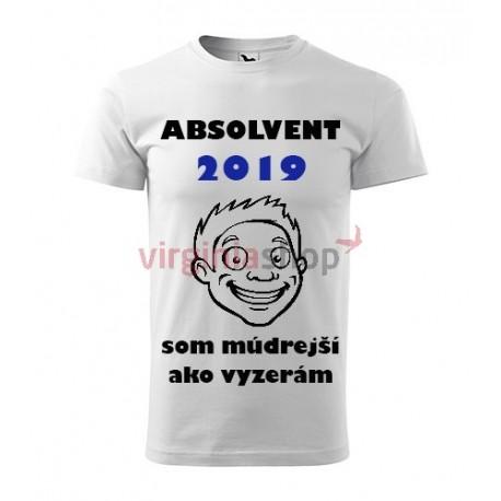 189fab1c38f2 Absolventské tričko Absolvent