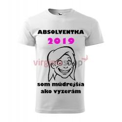 Absolventské tričko Absolventka
