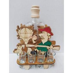 Darčeková fľaša Poľovník 00033
