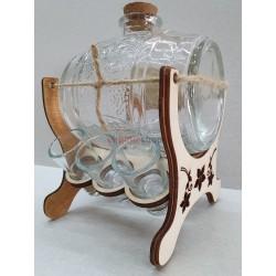 Darčeková fľaša súdok 0006