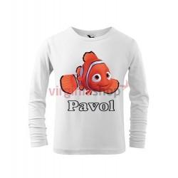 Detské tričko Hľadá sa Nemo