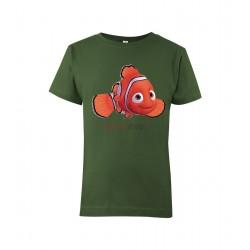 Detské tričko s motívom Nemo
