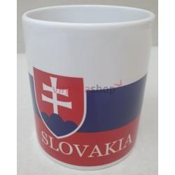 Hrnček  so slovenským znakom
