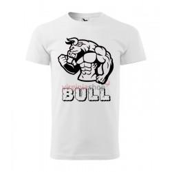 Pánske tričko s krátkym rukávom BULL