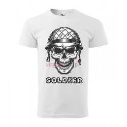 Pánske tričko s krátkym rukávom SOLDIER