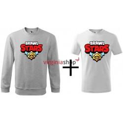 Detský set mikina + tričko Brawl Stars
