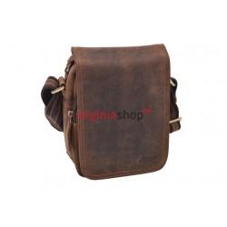 Pánska kožená taška 1232 crossbody