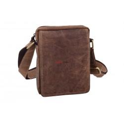 Pánska kožená taška 1222 crossbody