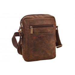 Pánska kožená taška 1221 crossbody