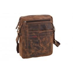Pánska kožená taška 1223 crossbody