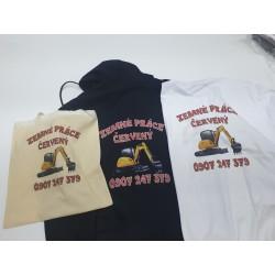 Potlač tričiek DTG
