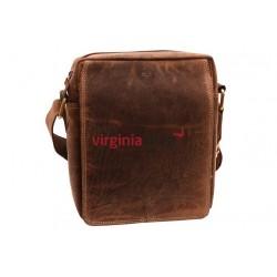 Pánska kožená taška 1234 crossbody