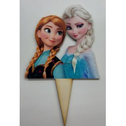 Zápich na tortu Frozen