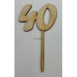 Zápich na tortu 40