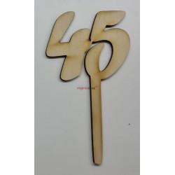 Zápich na tortu 45