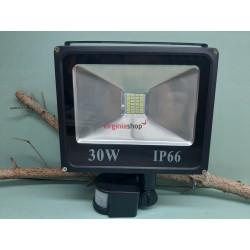 LED reflektor s pohybovým senzorom Z293 30W