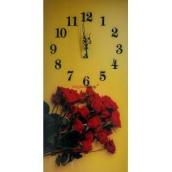 Nástenné hodiny Z330 kvety