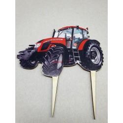 Zápich na tortu Traktor