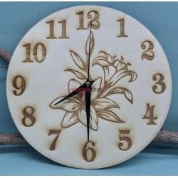 Drevené hodiny 1583