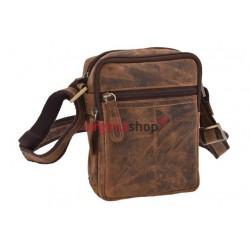 Pánska kožená taška 1218 crossbody
