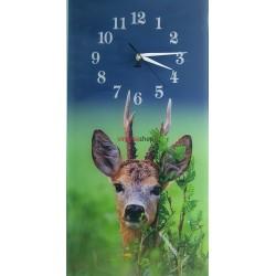 Nástenné hodiny s motívom srnec 330N
