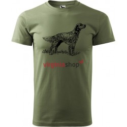 Tričko s poľovníckym psom 2903