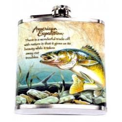 Fľaša ploskačka ryba