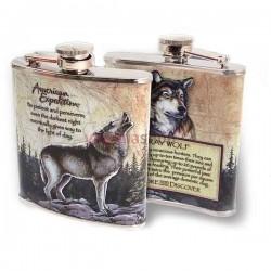 Fľaša ploskačka vlk